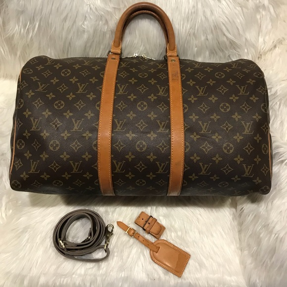 076051ea44c Louis Vuitton Bandouliere Keepall 50 &Accessories